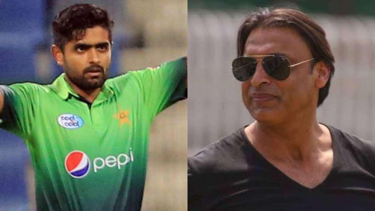 Babar Aazam and Shoaib Akhtar