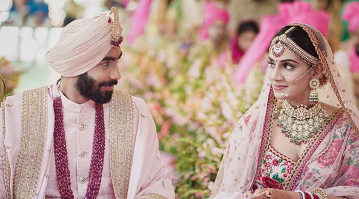 Jasprit Bumrah wedding